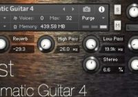 Sonic Zest Ambient Cinematic Guitar 4 KONTAKT
