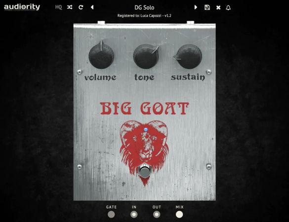 Audiority Big Goat v1.2.1 VST VST3 AU AAX