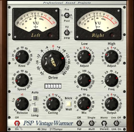 PSPaudioware PSP VintageWarmer2 v2.9.0 VST2 VST3 AAX [WIN]